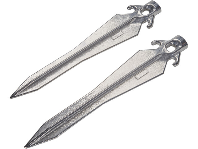 CAMPZ Universal Tent Pegs 30cm set of 2, silver